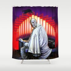 Dr. Phibes Vincent Price horror movie monsters Shower Curtain