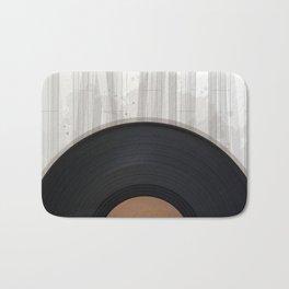 Vinyl reccord design Bath Mat