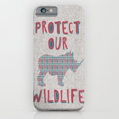 Protect Our Wildlife 23 iPhone 6s Slim Case