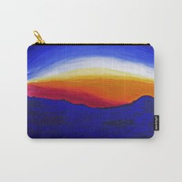 Bernal Hill Abstract   2011 Carry-All Pouch