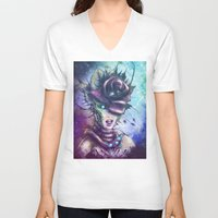 venus V-neck T-shirts featuring Venus by Vincent Vernacatola