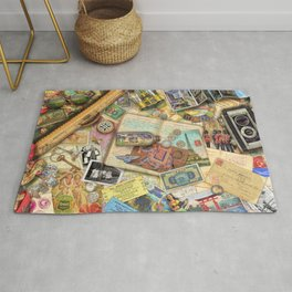 Vintage World Traveler Rug