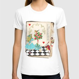 Alice's Book Alice in Wonderland T-shirt