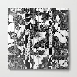 A Linear Landscape Metal Print