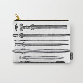 Examples of Iron Workmanship Carry-All Pouch