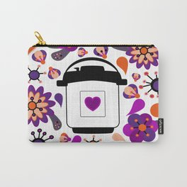 Floral Instant Pressure Pot Carry-All Pouch