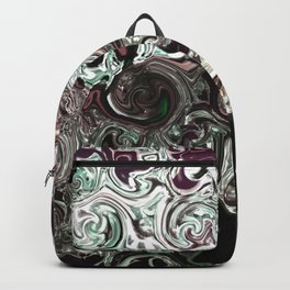 metal waves Backpack