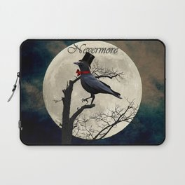 And the Raven Said, Nevermore (Inspired by The Raven) A657 Laptop Sleeve