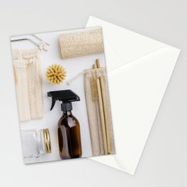 zero waste cleaning and beauty products Stationery Cards