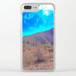 Carnegiea gigantea Clear iPhone Case