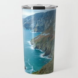 Sea Cliffs of Slieve League Travel Mug
