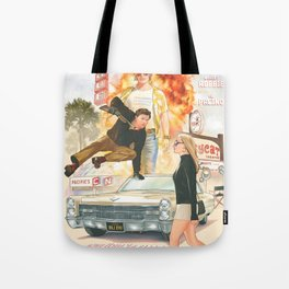 Once A Time In Hollywood Tote Bag