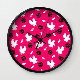 Volley Eagles! Wall Clock