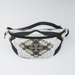 diamond cross pattern with borders Fanny Pack