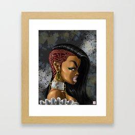 The Bae Framed Art Print