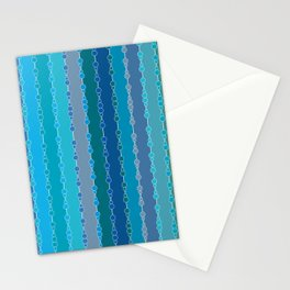 Multi-faceted decorative lines 7 Stationery Cards