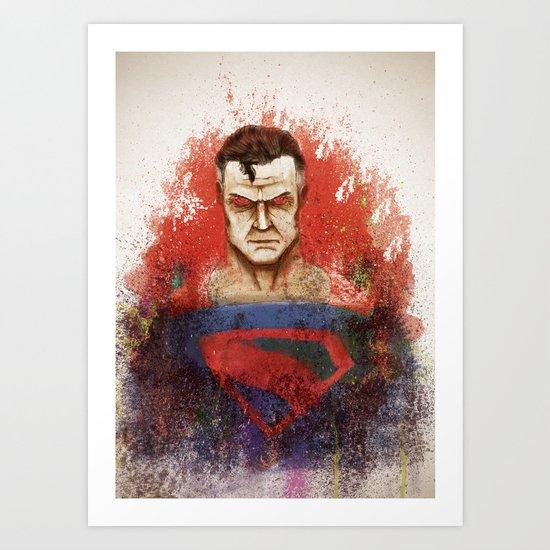 Super! Art Print