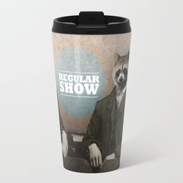 Mordecai & Rigby Travel Mug