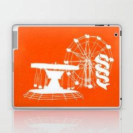 Seaside Fair in Orange Laptop & iPad Skin