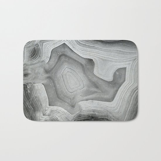 MINERAL MONOCHROME Bath Mat