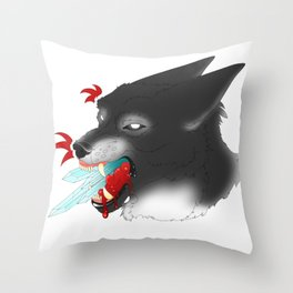 Crystal Clear Lies Throw Pillow