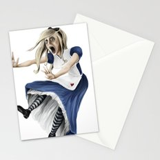 Falling Alice Stationery Cards