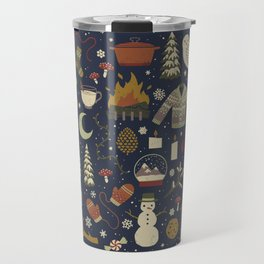 Winter Nights Travel Mug