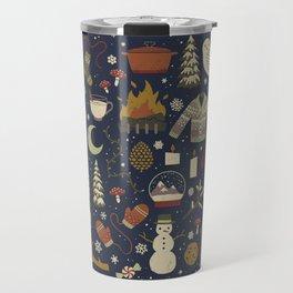 Winter Nights Travel Mug