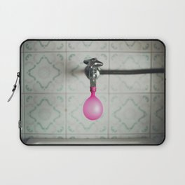 Tap with a pink balloon Laptop Sleeve