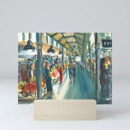 San Miguel Market Madrid Spain Mini Art Print