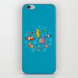 Tiny Aquarium iPhone Skin