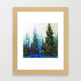 BLUE MOUNTAIN PINE FOREST  VISTA Framed Art Print