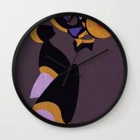 bass Wall Clocks featuring Bass by JHTY