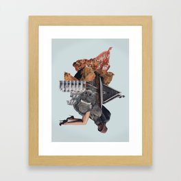 Living Stains Framed Art Print