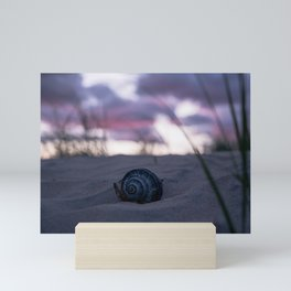 Sally Sells Seashells by the Seashore Mini Art Print