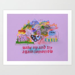 Wake UP Art Print
