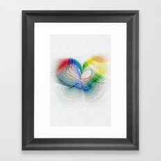 Free to Live & Love Framed Art Print
