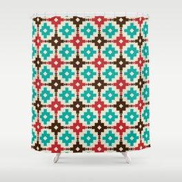 Primitive Pattern Shower Curtain