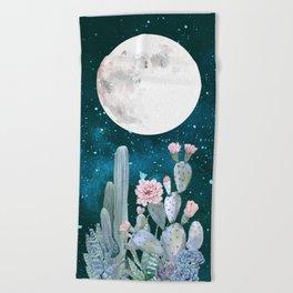 Desert Nights by Nature Magick Beach Towel