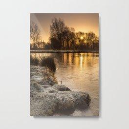 A Winter's Morn Metal Print