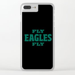 Fly Eagles Clear iPhone Case