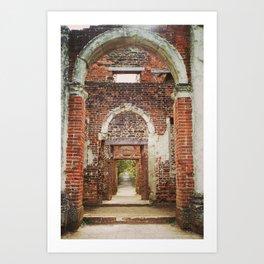 Mansion Hallway Art Print