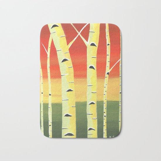 Birch Woods Bath Mat