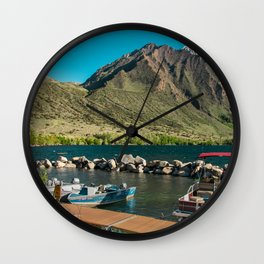 Convict Lake and Mt. Morrison Wall Clock