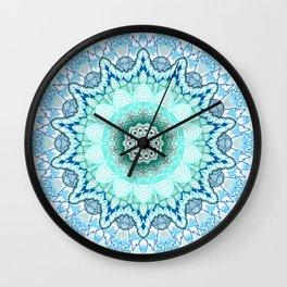 Snow Queen Mandala  Wall Clock