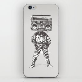 Old School Boy iPhone Skin