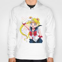 sailor moon Hoodies featuring Sailor Moon  by Neo Crystal Tokyo