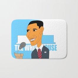 Obama Elections 2012 Bath Mat