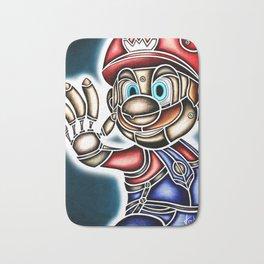 Mario Machine Bath Mat