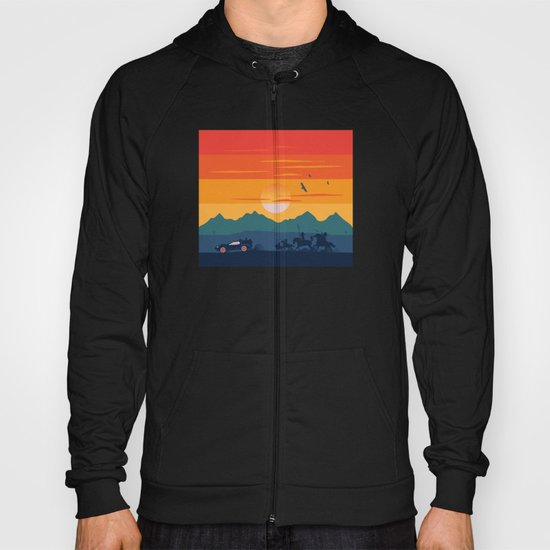 Back to the Wild West Hoody